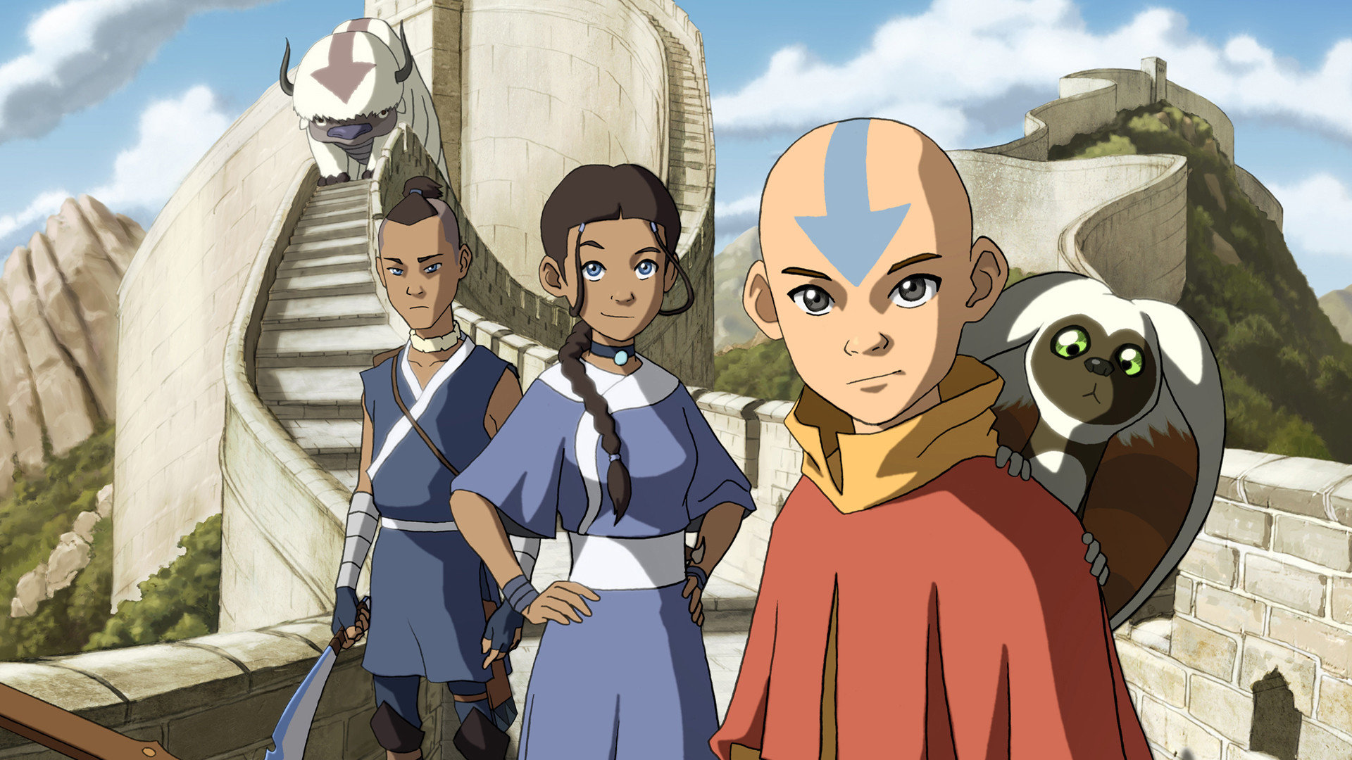Avatar The Last Airbender HD Backgrounds For 1920x1080 Full 1080p Desktop