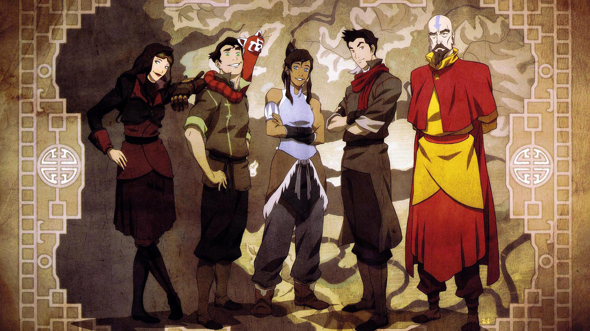 Awesome Avatar: The Legend Of Korra free background ID:243440 for 1080p PC