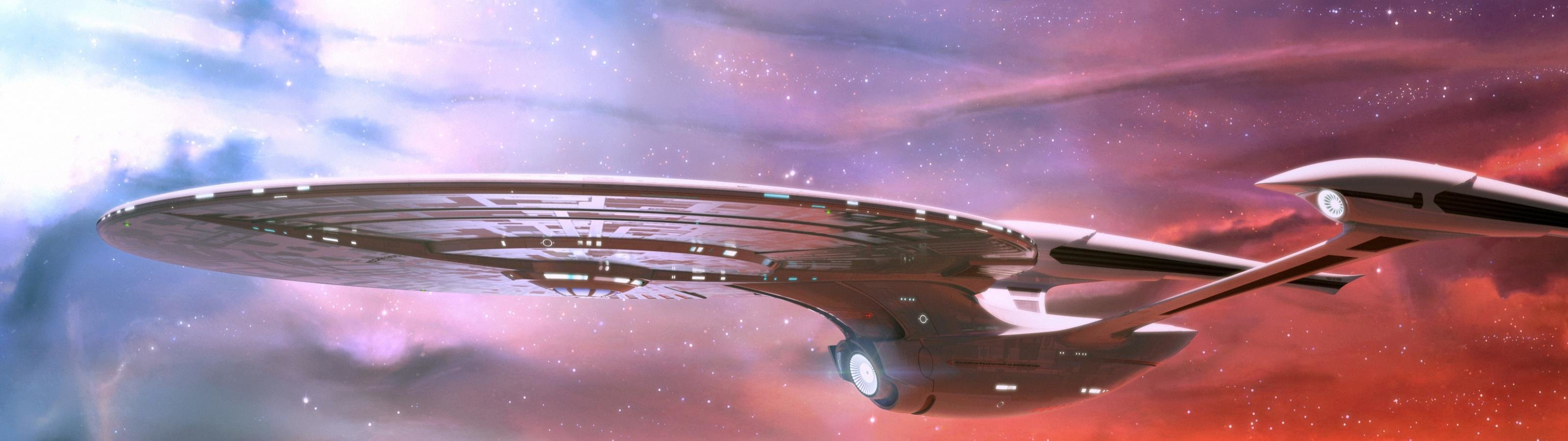 Download dual monitor 3200x900 Star Trek desktop background ID:389061 for free