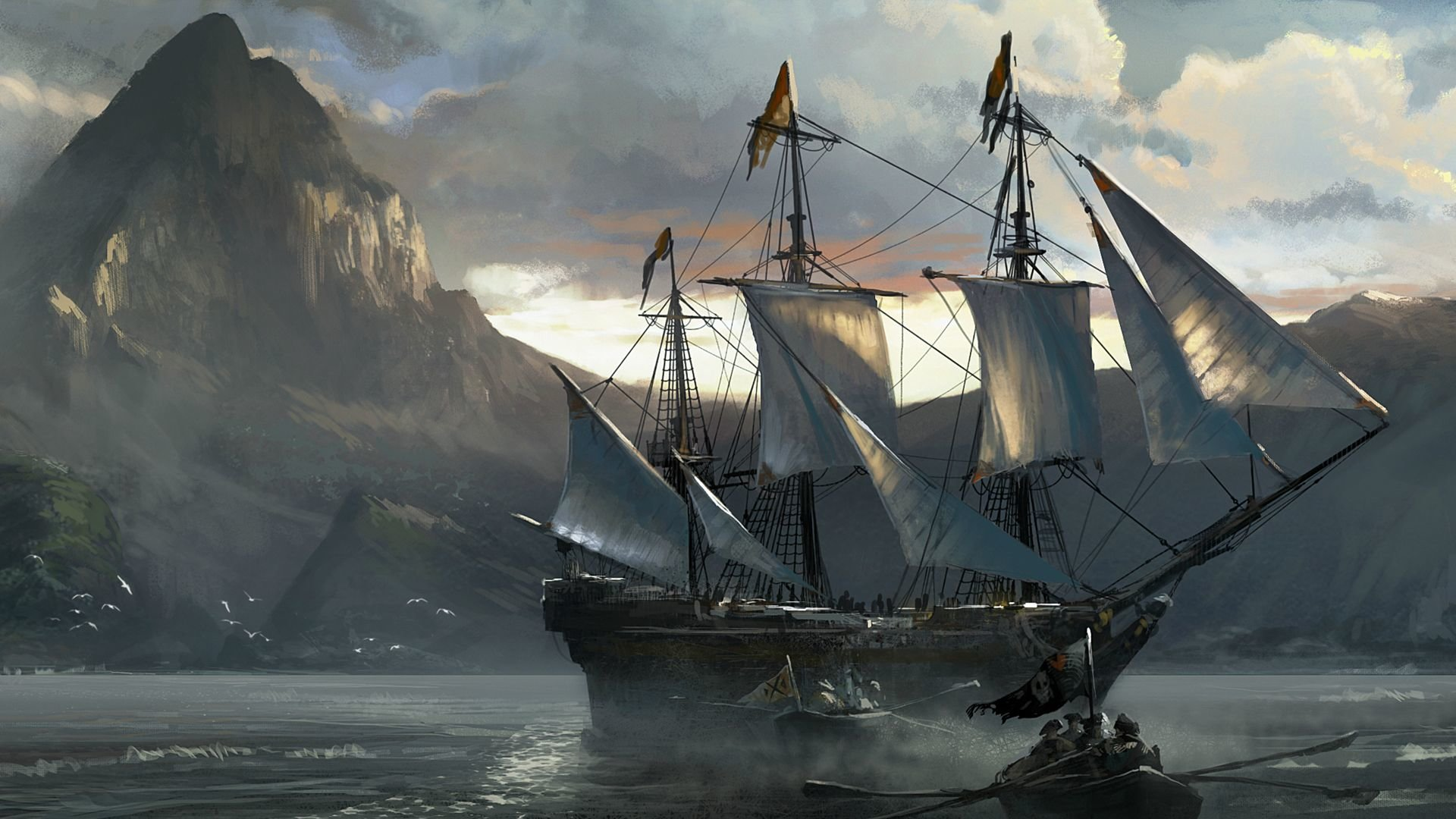Awesome Assassin's Creed 4: Black Flag free background ID:234605 for full hd 1920x1080 computer