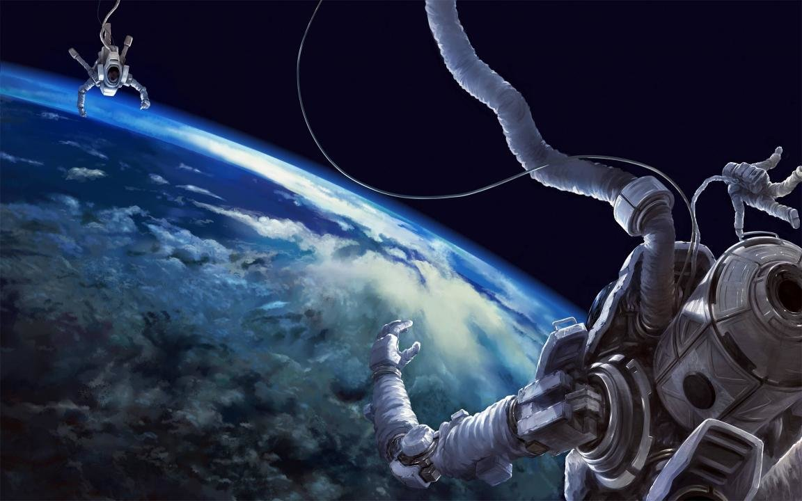 Awesome Astronaut free background ID:101521 for hd 1152x720 desktop