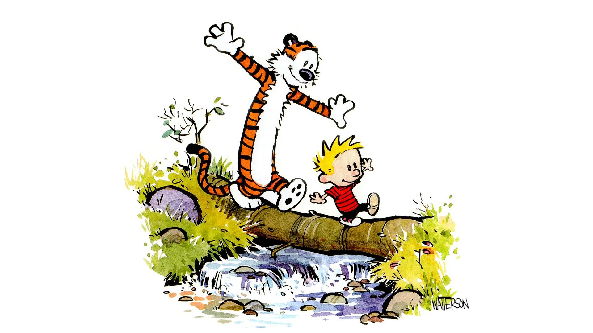 Free download Calvin and Hobbes background ID:211364 full hd for desktop