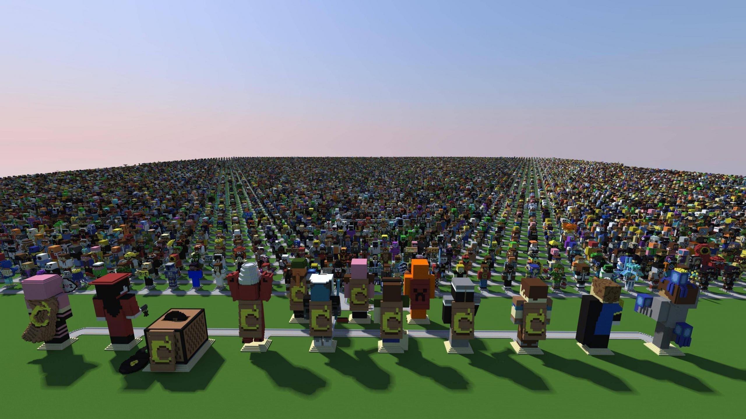 Minecraft Wallpapers 2560x1440 Desktop Backgrounds