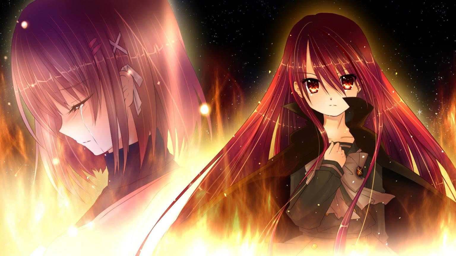 Awesome Shana (Shakugan No Shana) free background ID:284558 for hd 1536x864 computer