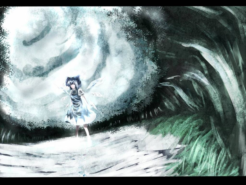 Best Cirno (Touhou) background ID:225213 for High Resolution hd 1024x768 PC