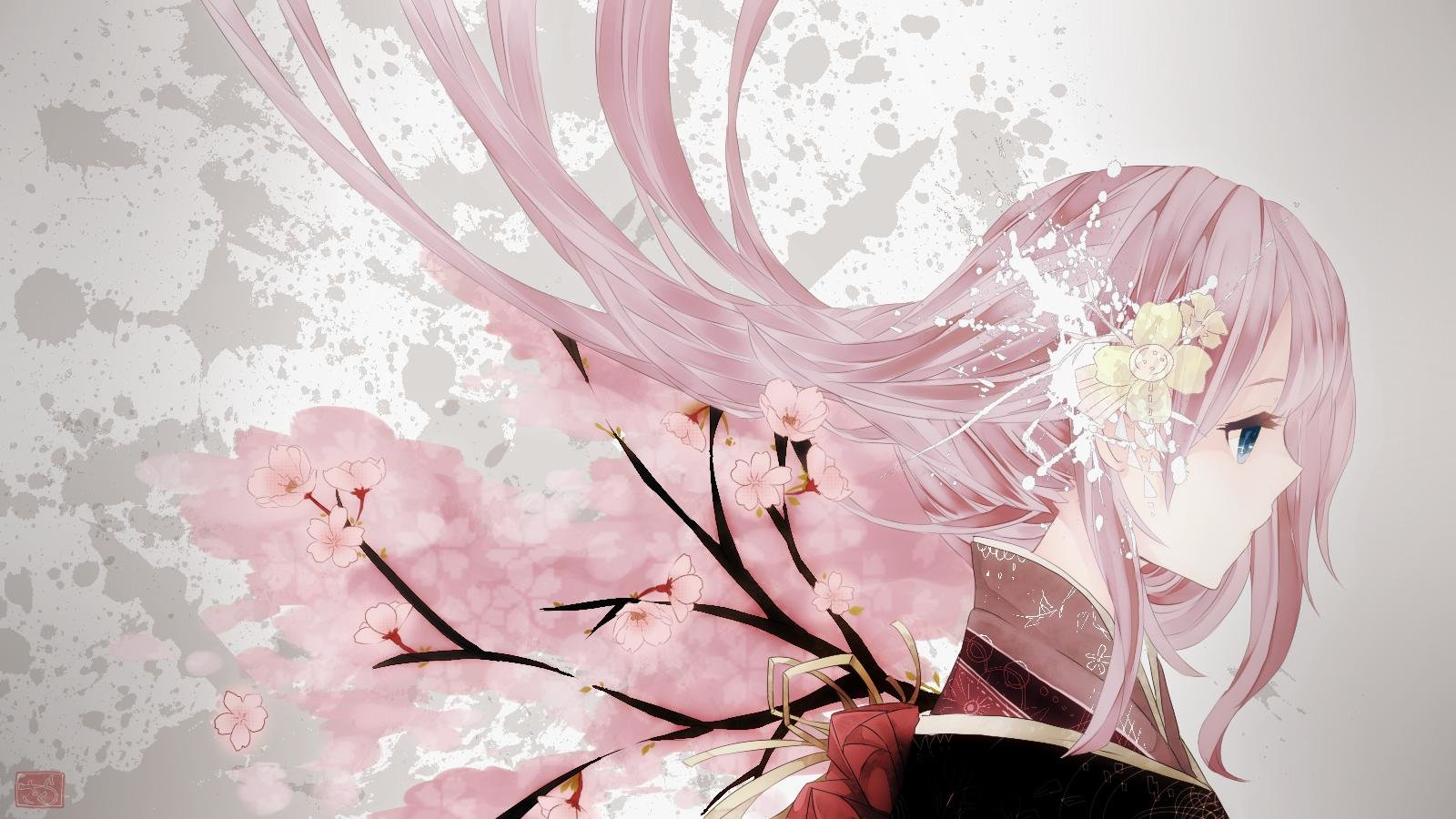 High resolution Luka Megurine hd 1600x900 wallpaper ID:1712 for computer