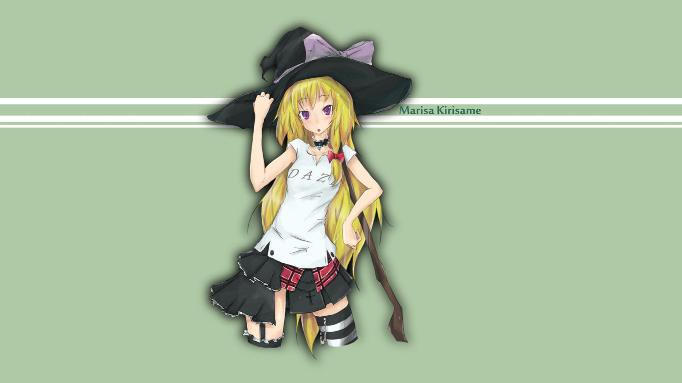 Free Marisa Kirisame high quality background ID:225229 for laptop PC