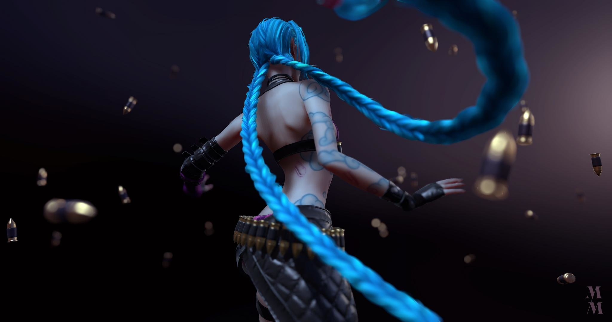 High resolution Jinx (League Of Legends) hd 2048x1080 background ID:170904 for PC