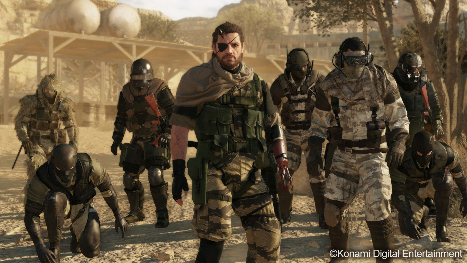 Metal Gear Solid 5 V The Phantom Pain Mgsv 5 Wallpapers Hd