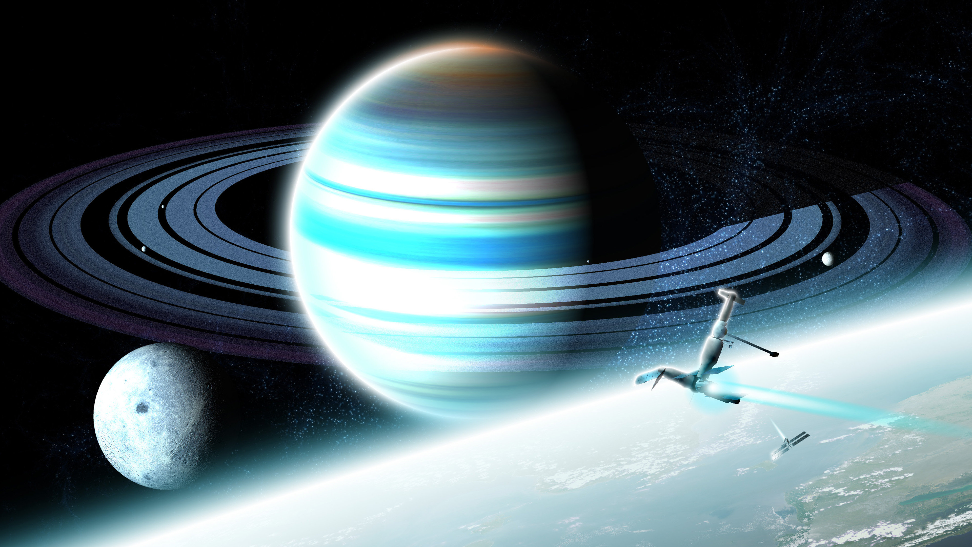 Awesome Planetary Ring free wallpaper ID:256516 for hd 4k PC