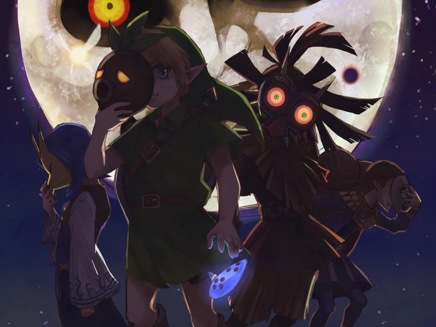 Awesome The Legend Of Zelda Majora S Mask Free Background Id