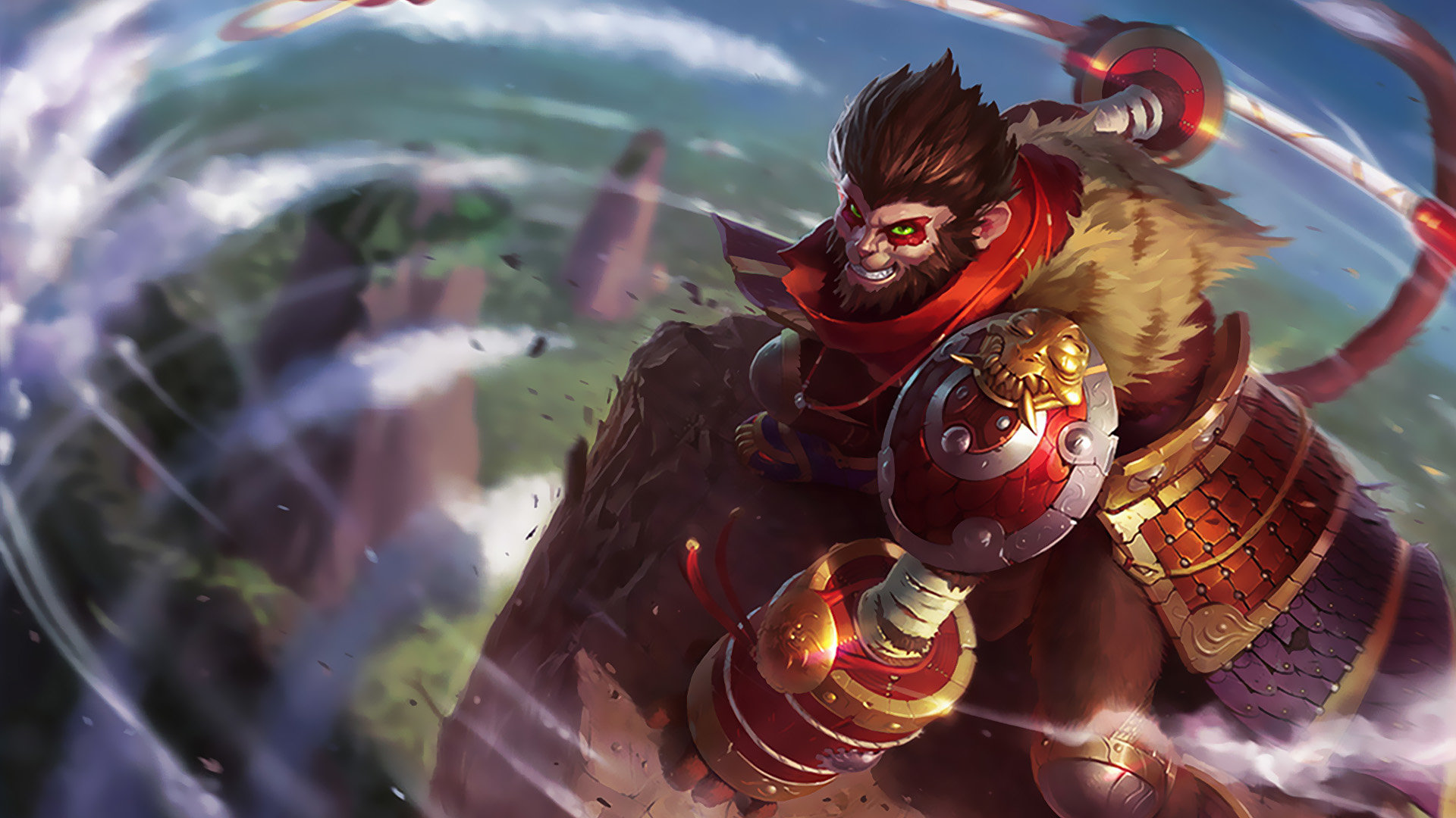 Free Download Wukong League Of Legends Background ID171304 1080p For Computer 1920x1080