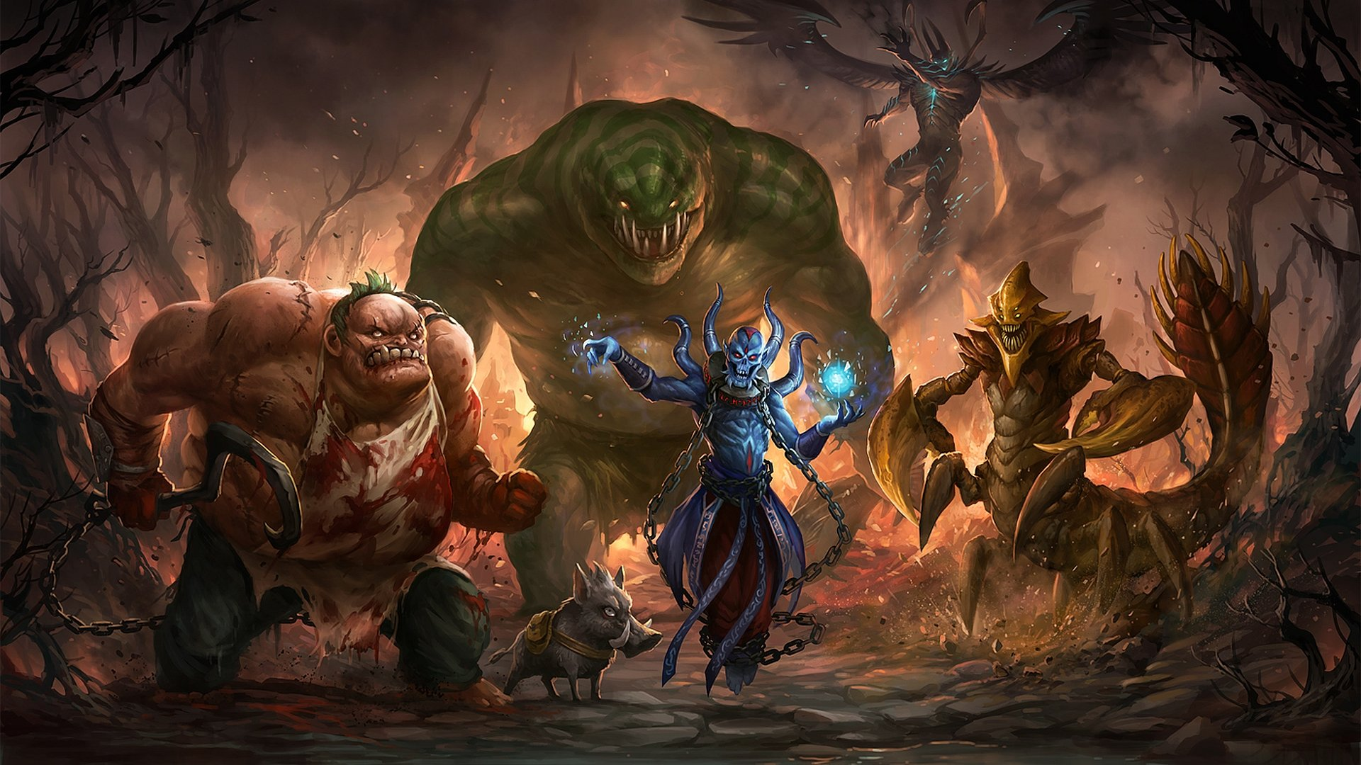 Free Download Dota 2 Wallpaper Id 302358 Full Hd 1080p For Pc