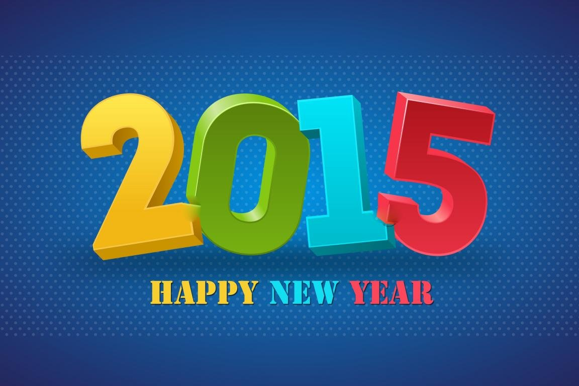 Awesome New Year 2015 free wallpaper ID:156263 for hd 1152x768 desktop