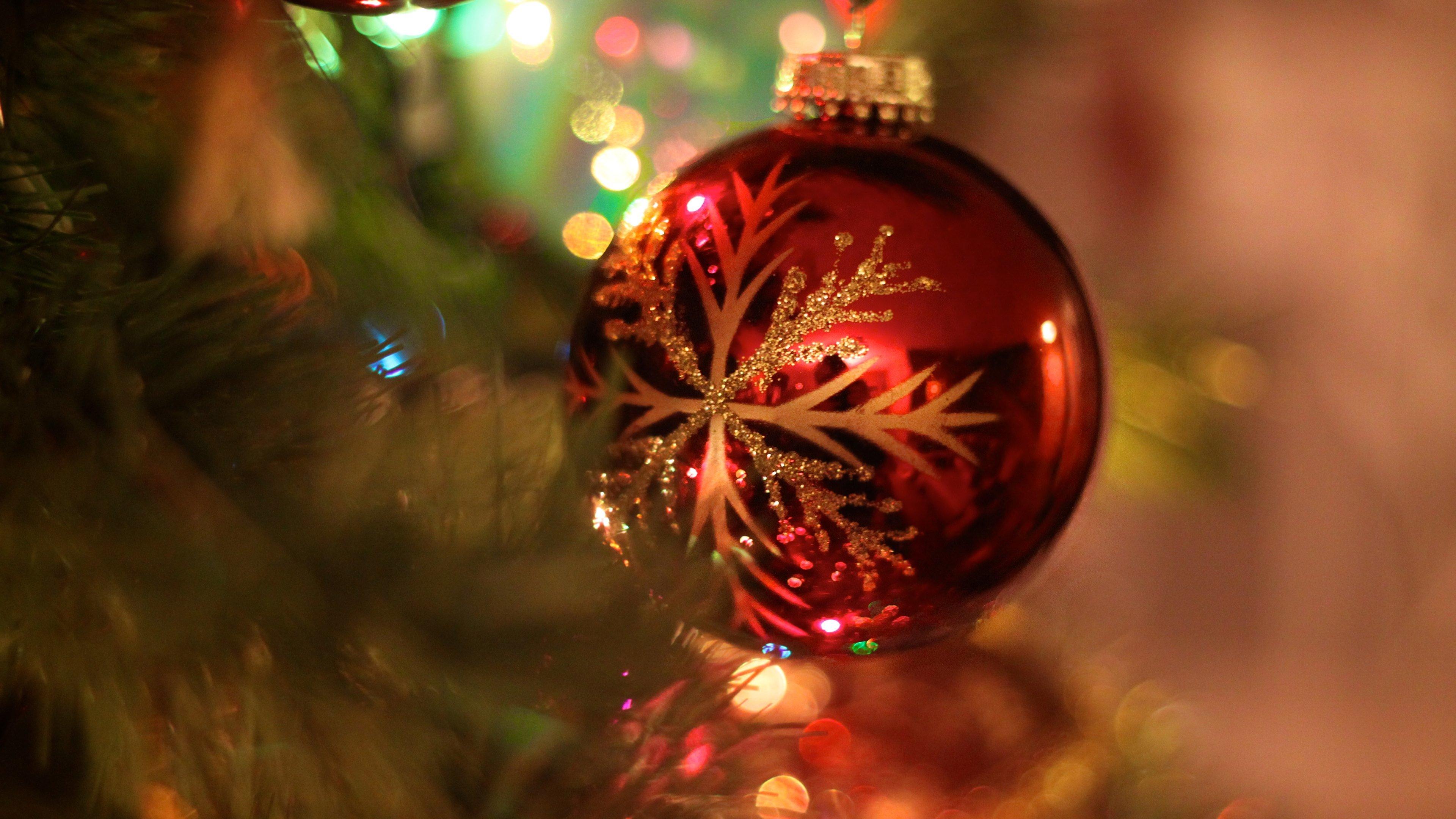 Download 4k Christmas Ornaments Decorations Desktop Wallpaper Id434994 For Free