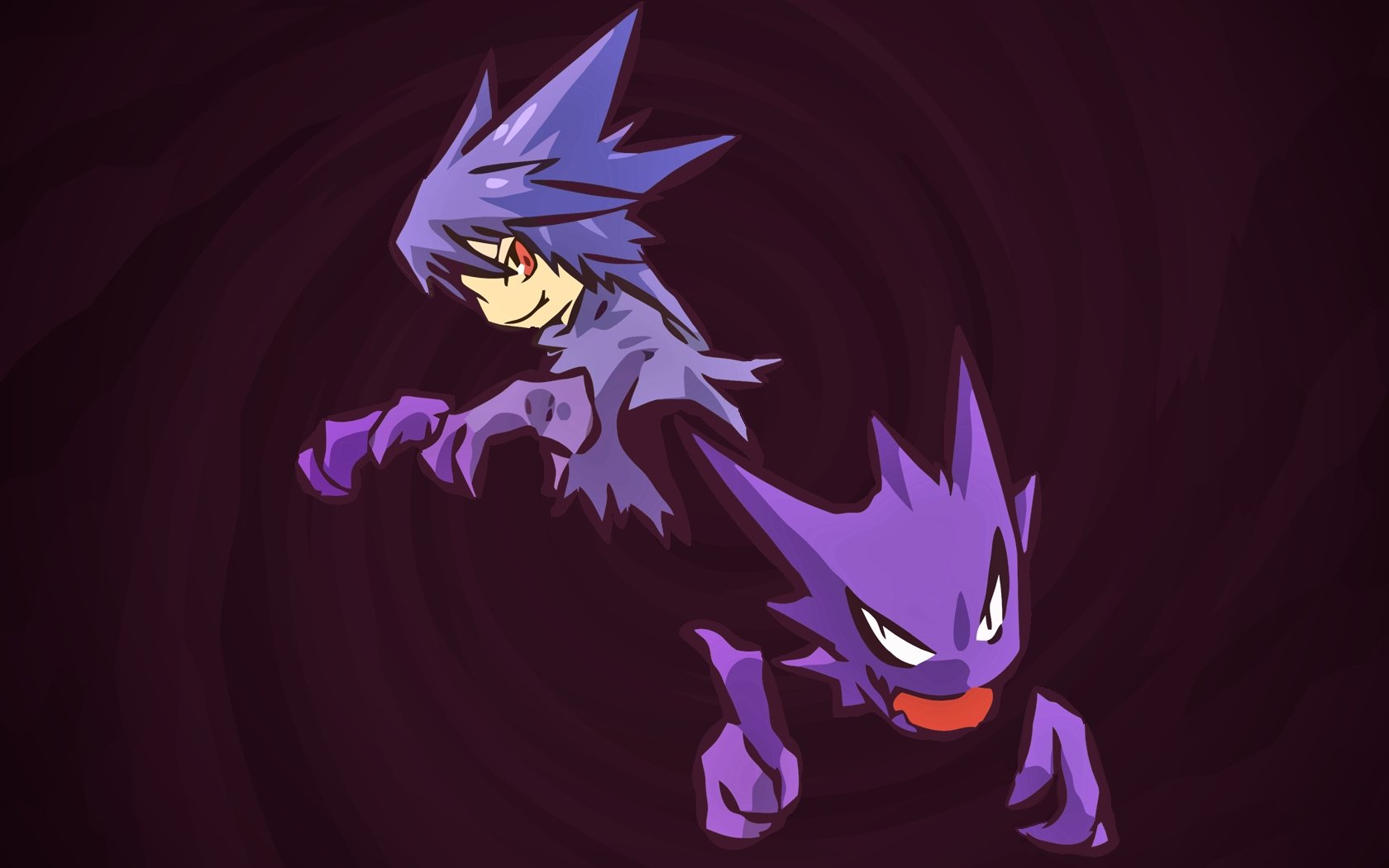Download hd 1680x1050 Haunter (Pokemon) PC background ID:280449 for free