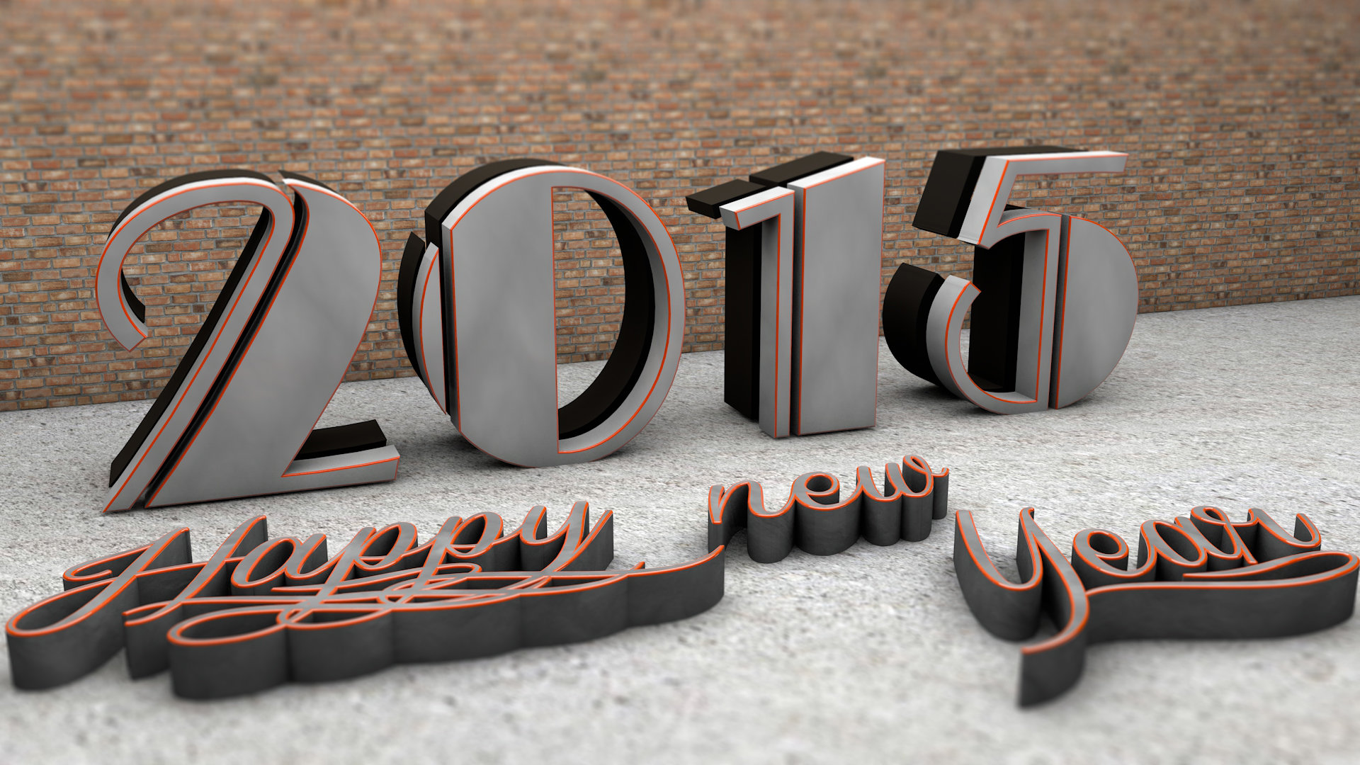 Best New Year 2015 background ID:156214 for High Resolution 1080p desktop