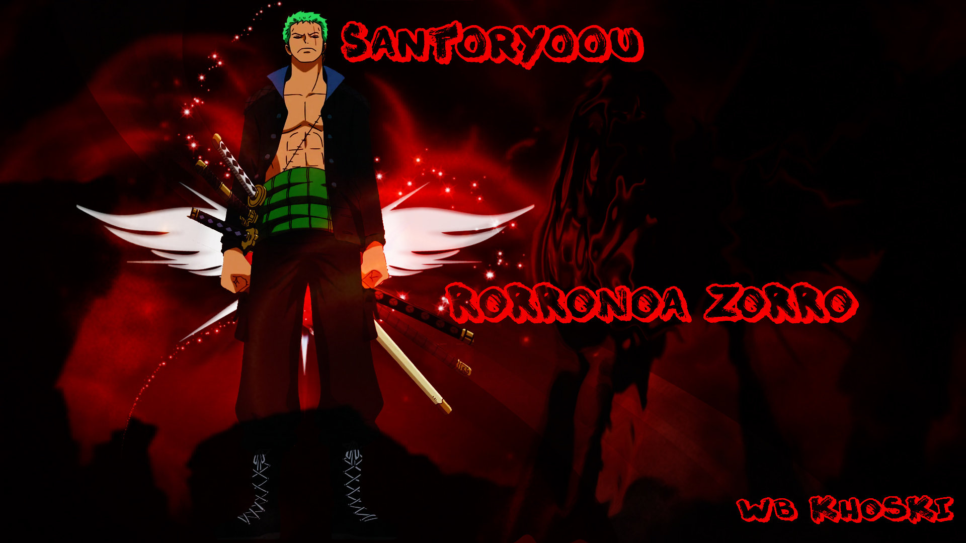 Zoro Roronoa Wallpapers 1920x1080 Full Hd 1080p Desktop Backgrounds