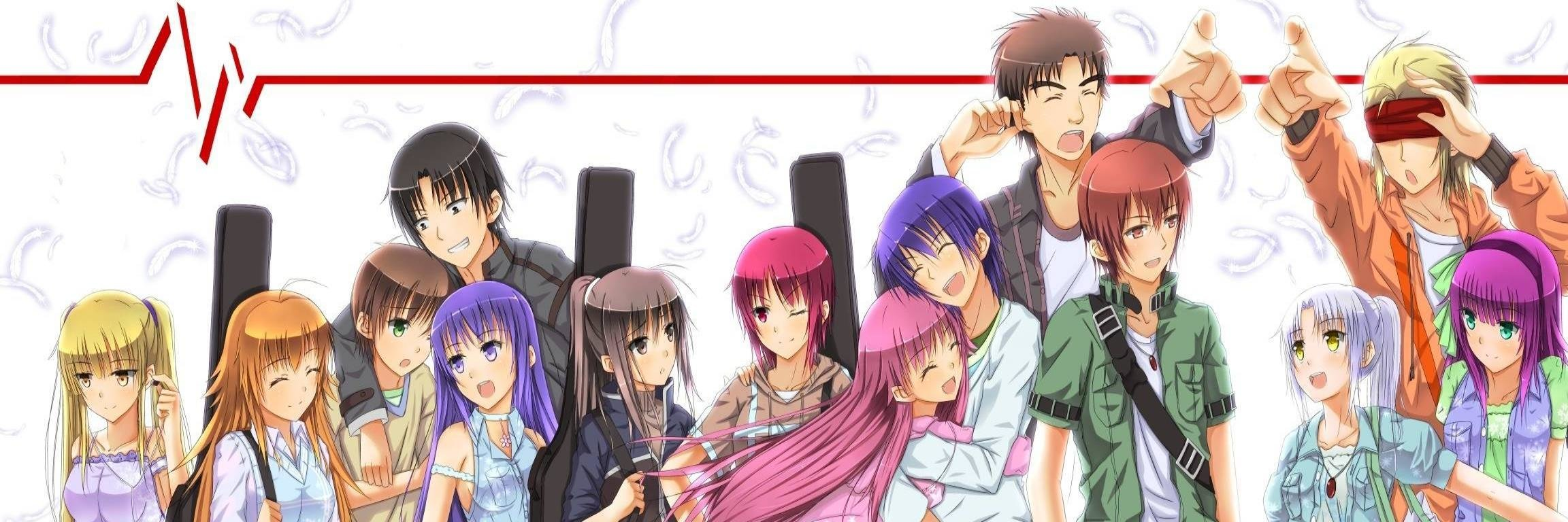 Free Angel Beats! high quality wallpaper ID:235247 for dual screen 2304x768 PC