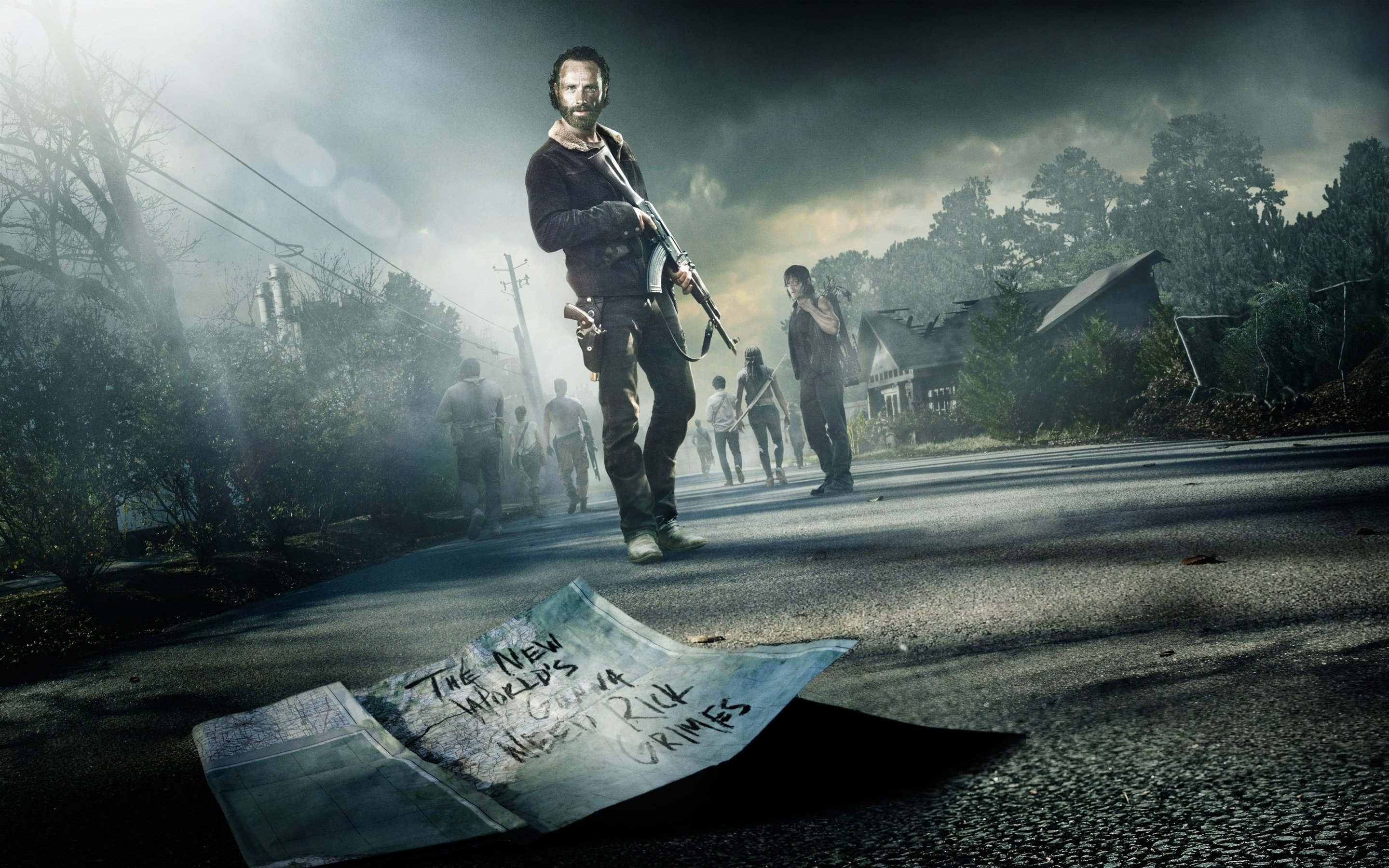 Awesome Rick Grimes free background ID:190171 for hd 2880x1800 computer