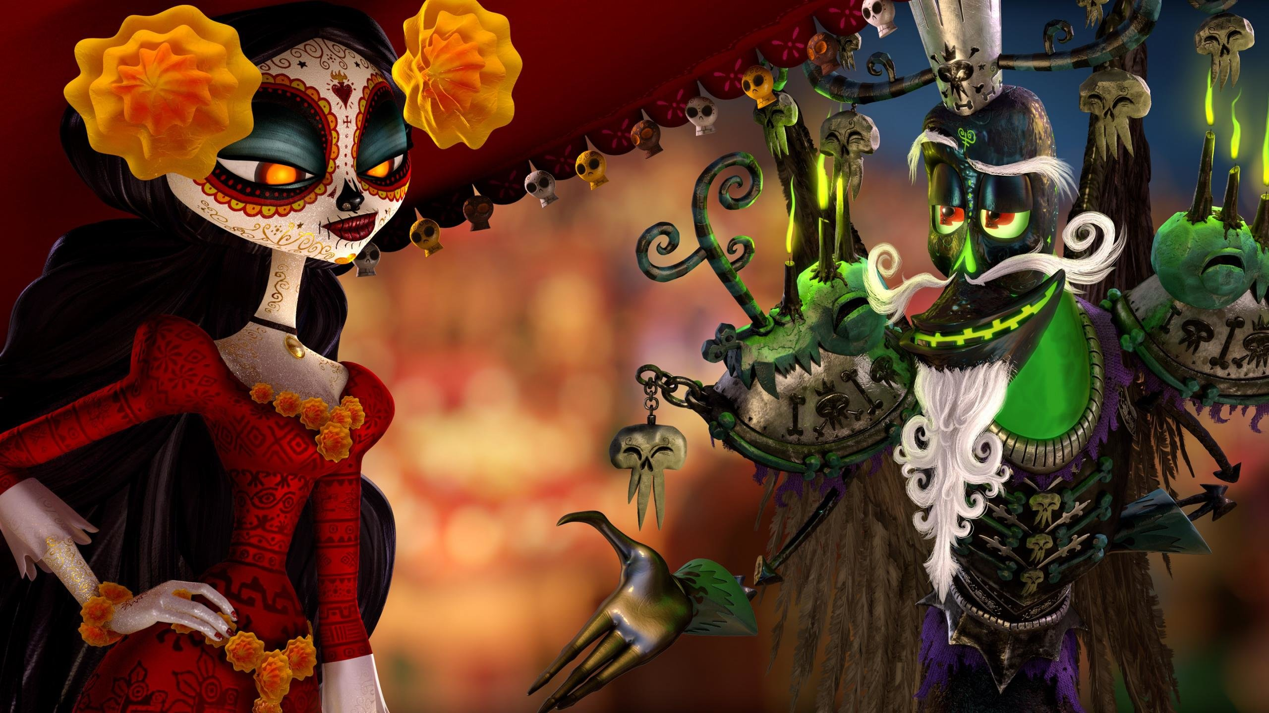 The Book Of Life Wallpapers 2560x1440 Desktop Backgrounds