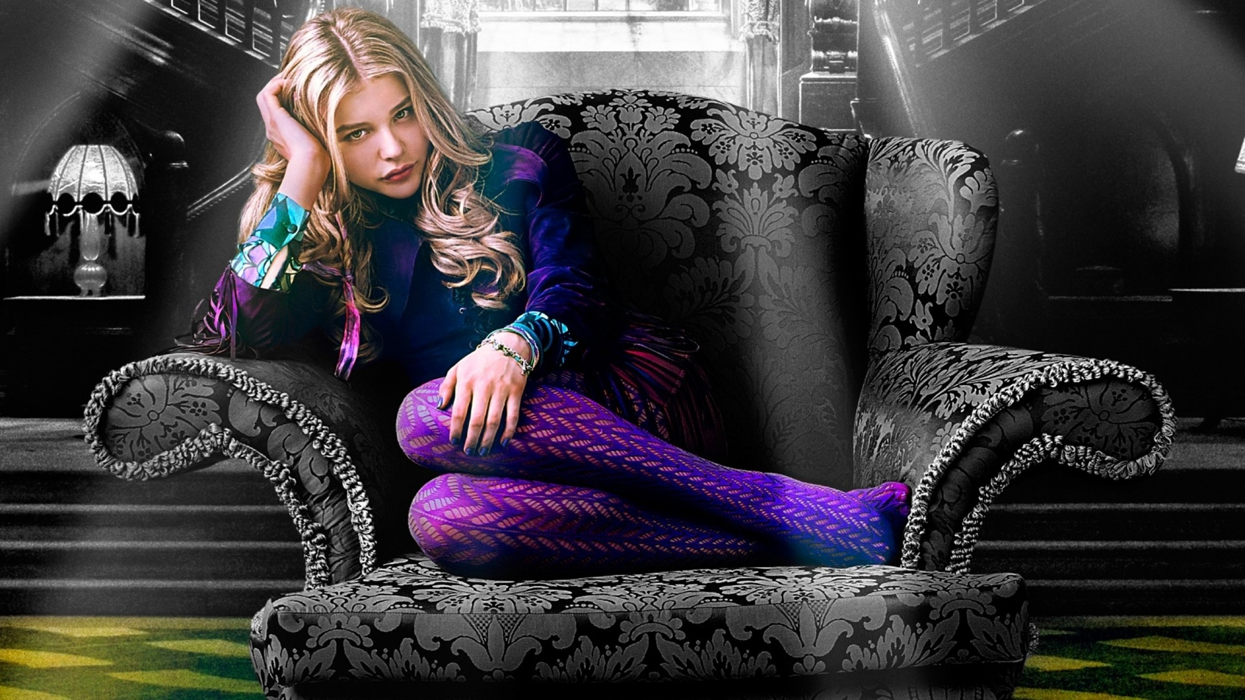 Download hd 2560x1440 Chloe Grace Moretz computer background ID:213675 for free