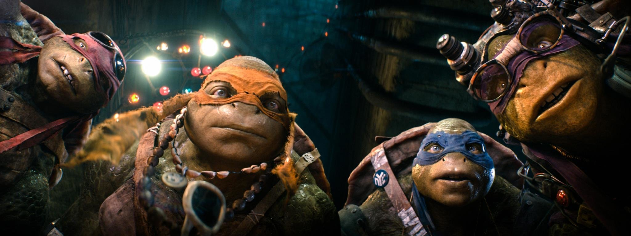 High resolution Teenage Mutant Ninja Turtles (2014) TMNT movie dual monitor 2048x768 wallpaper ID:234178 for PC