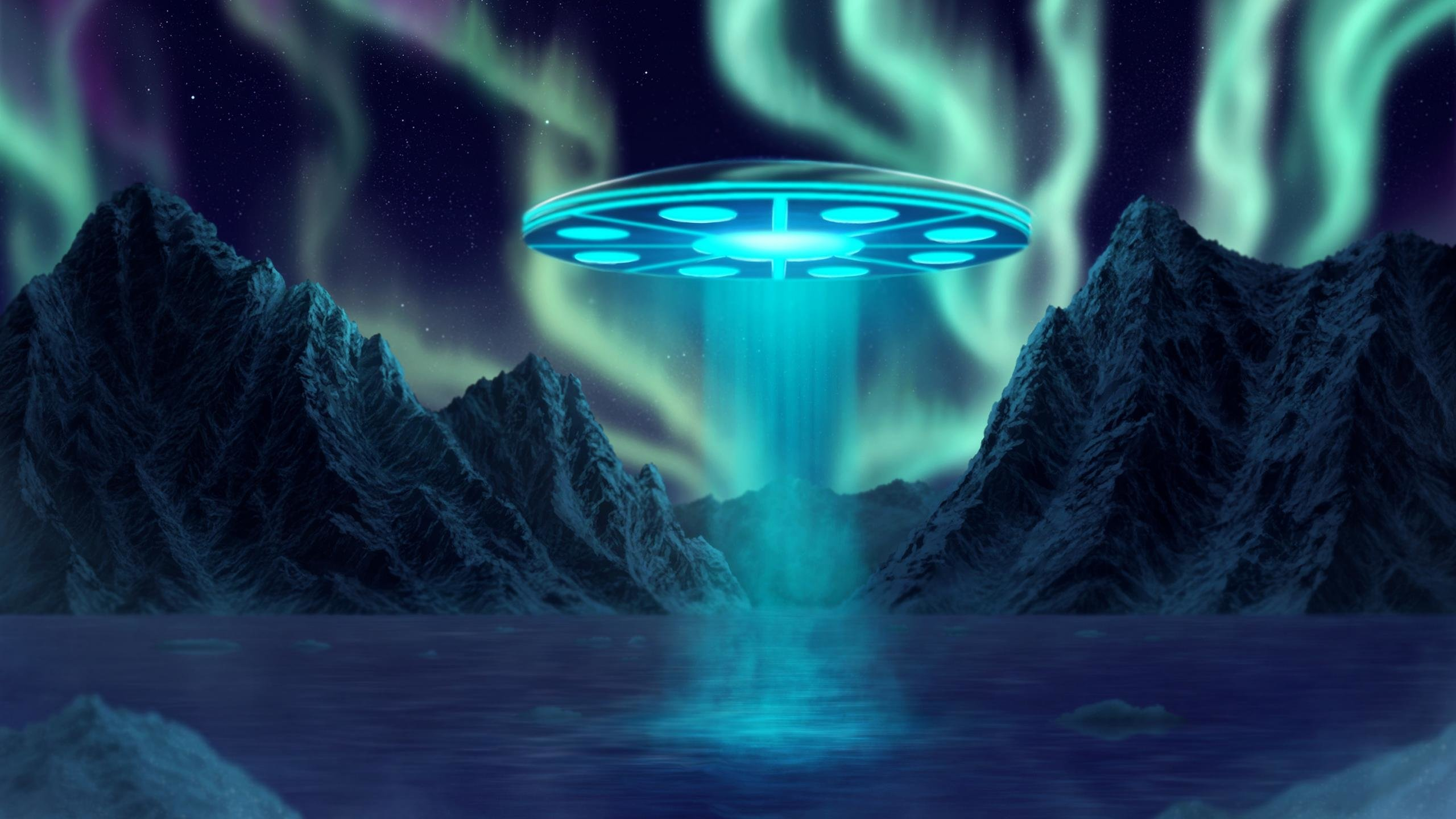 Awesome Ufo free wallpaper ID:48552 for hd 2560x1440 computer