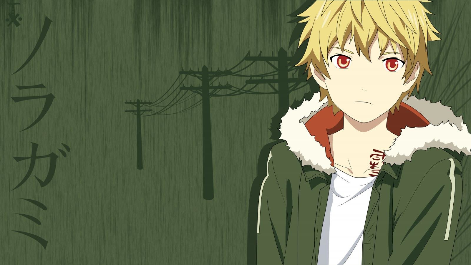 High resolution Yukine (Noragami) hd 1600x900 background ID:450313 for PC