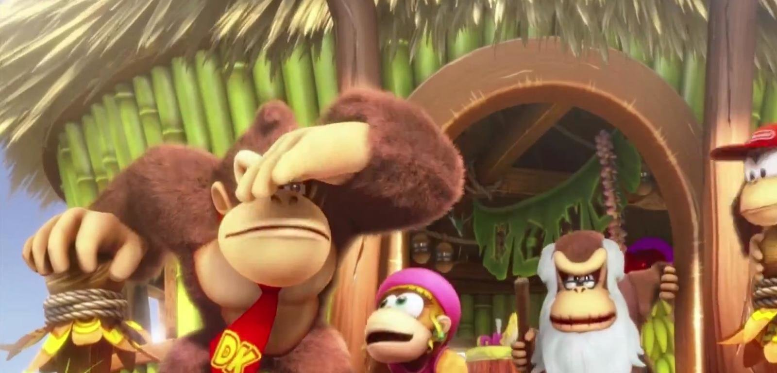 Donkey Kong Country Tropical Freeze Wallpapers Hd For Desktop