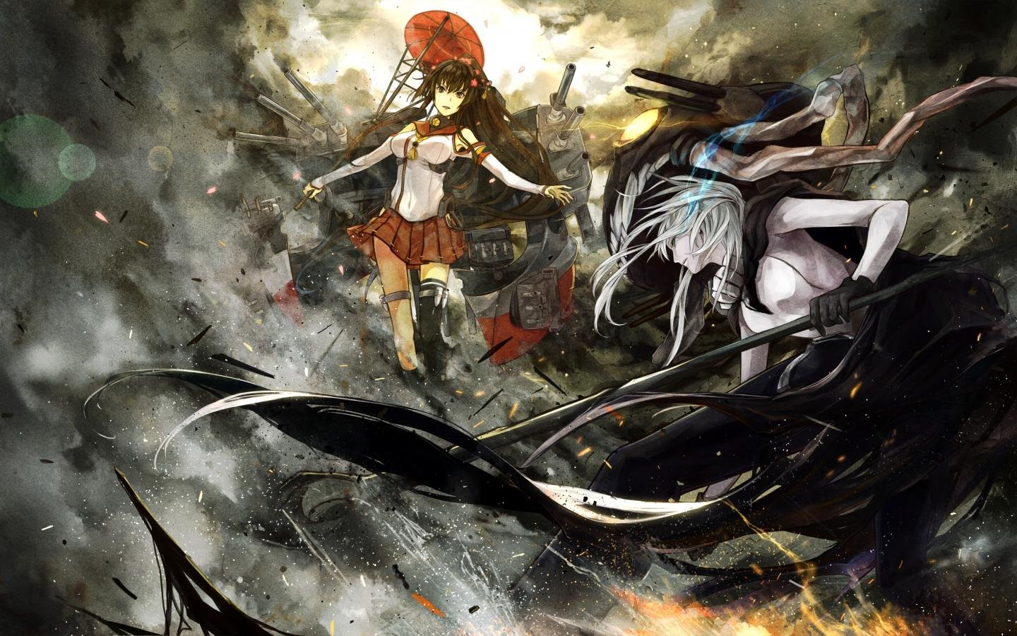 High resolution Kantai Collection hd 1440x900 wallpaper ID:330896 for PC