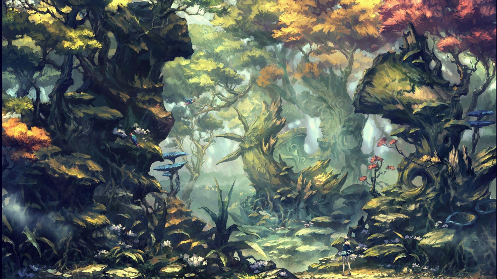 Fantasy Forest Wallpapers 1920x1080 Full Hd 1080p Desktop