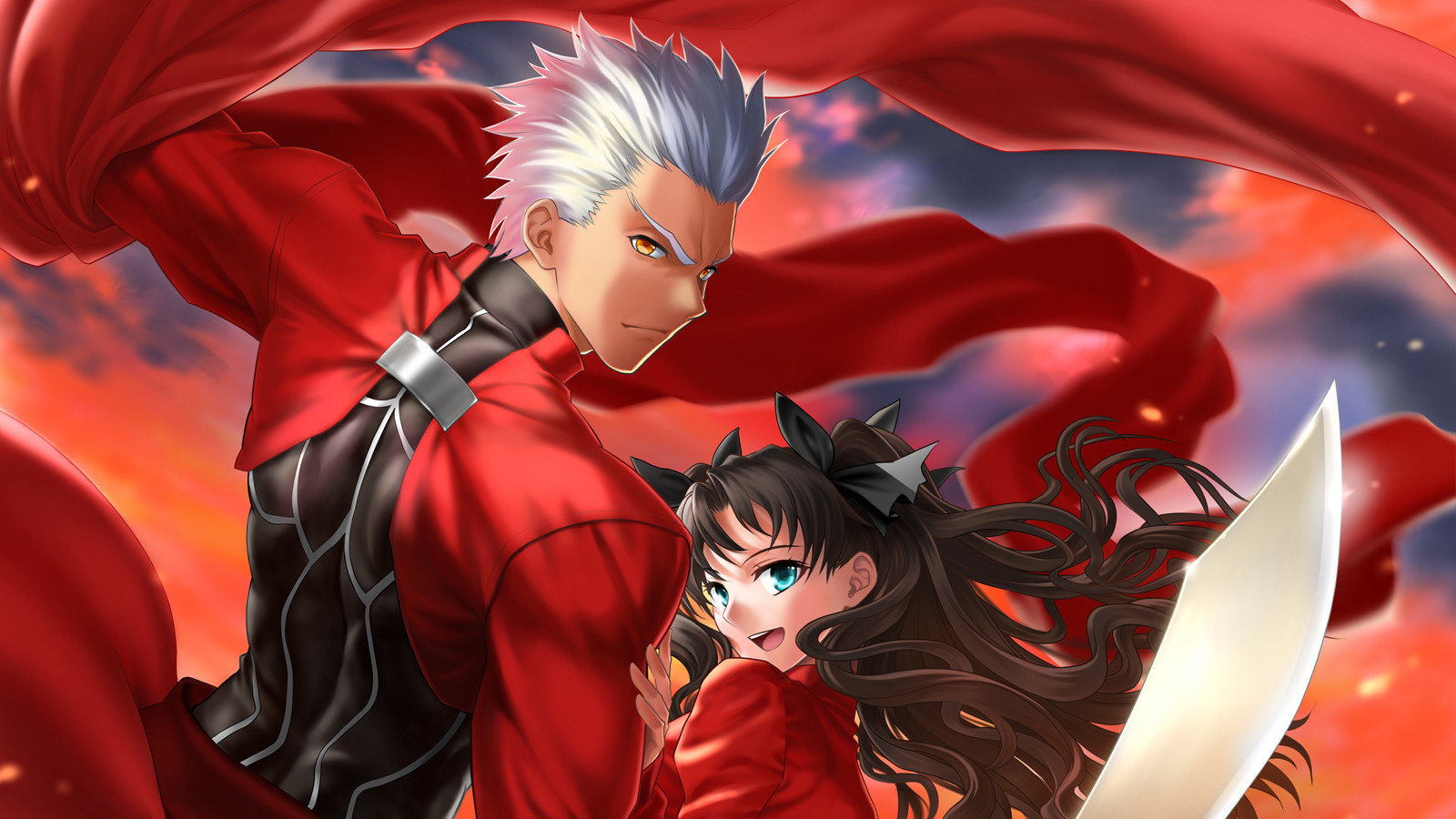 Download hd 1600x900 Fate/Stay Night desktop background ID:468640 for free