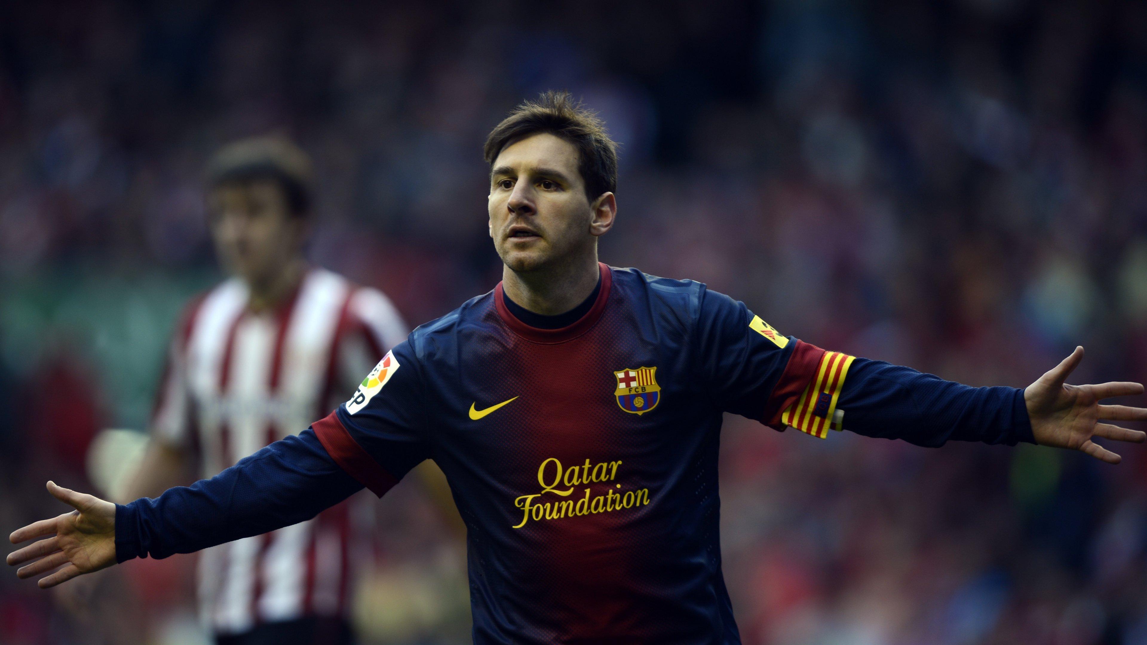 Lionel Messi Wallpapers 3840x2160 Ultra Hd 4k Desktop Backgrounds
