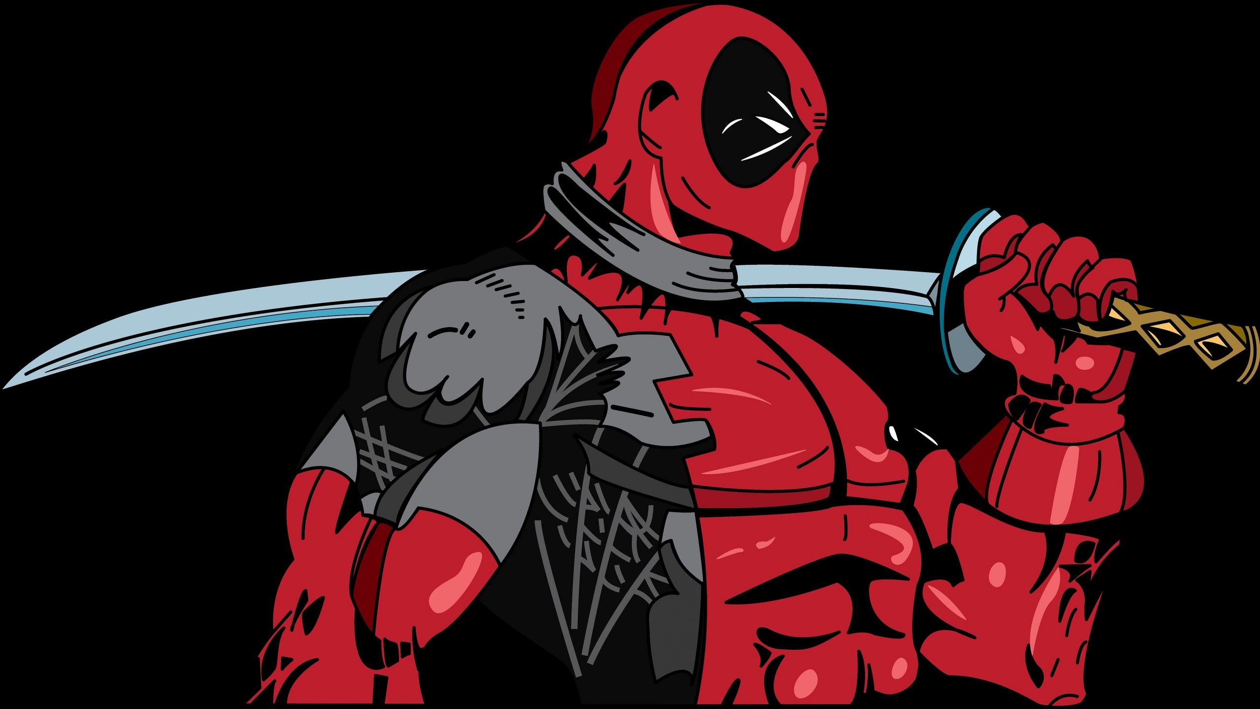 Download Hd 2560x1440 Deadpool Desktop Background ID349729 For Free