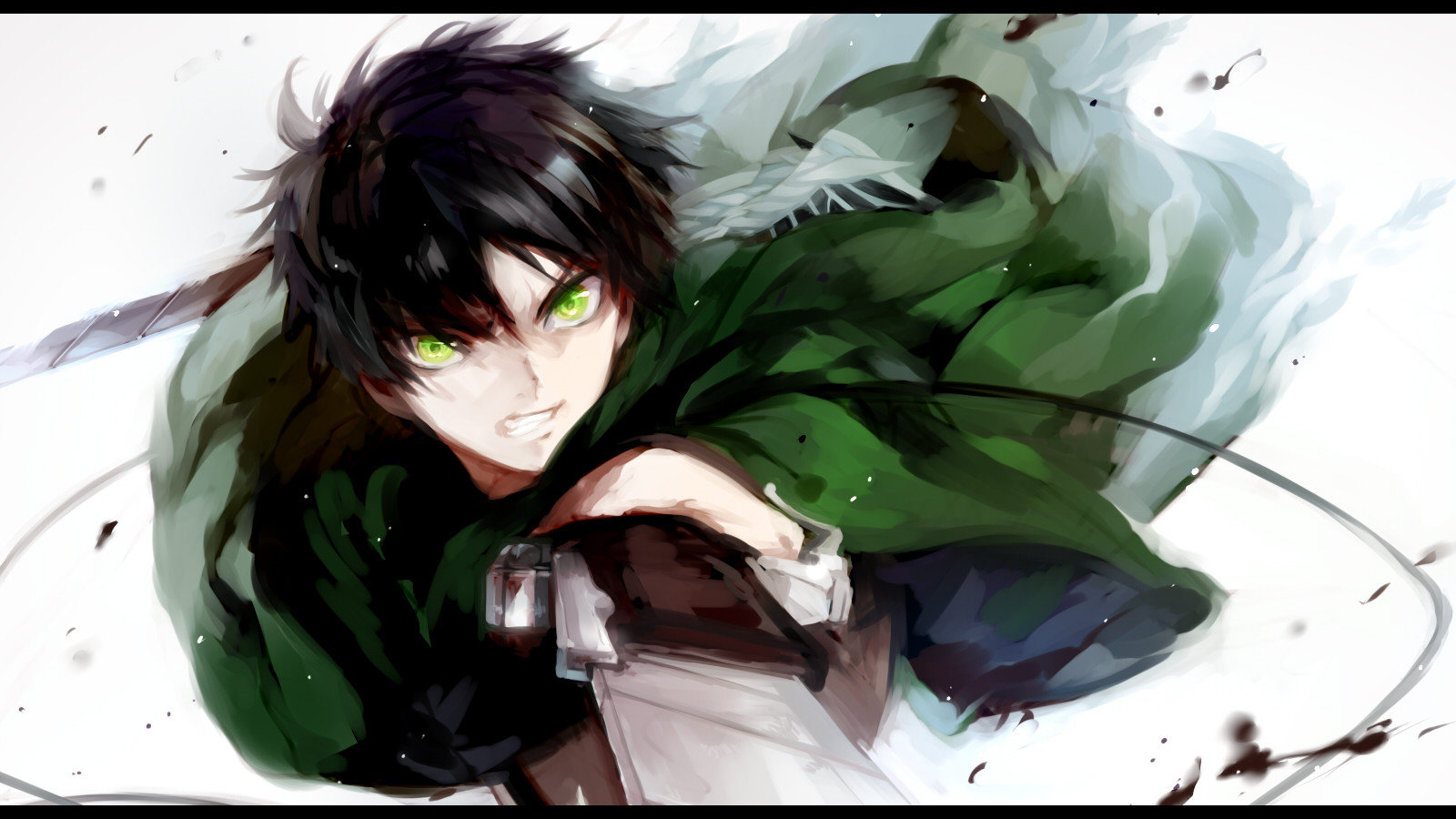 Awesome Eren Yeager free wallpaper ID:206313 for hd 1600x900 PC