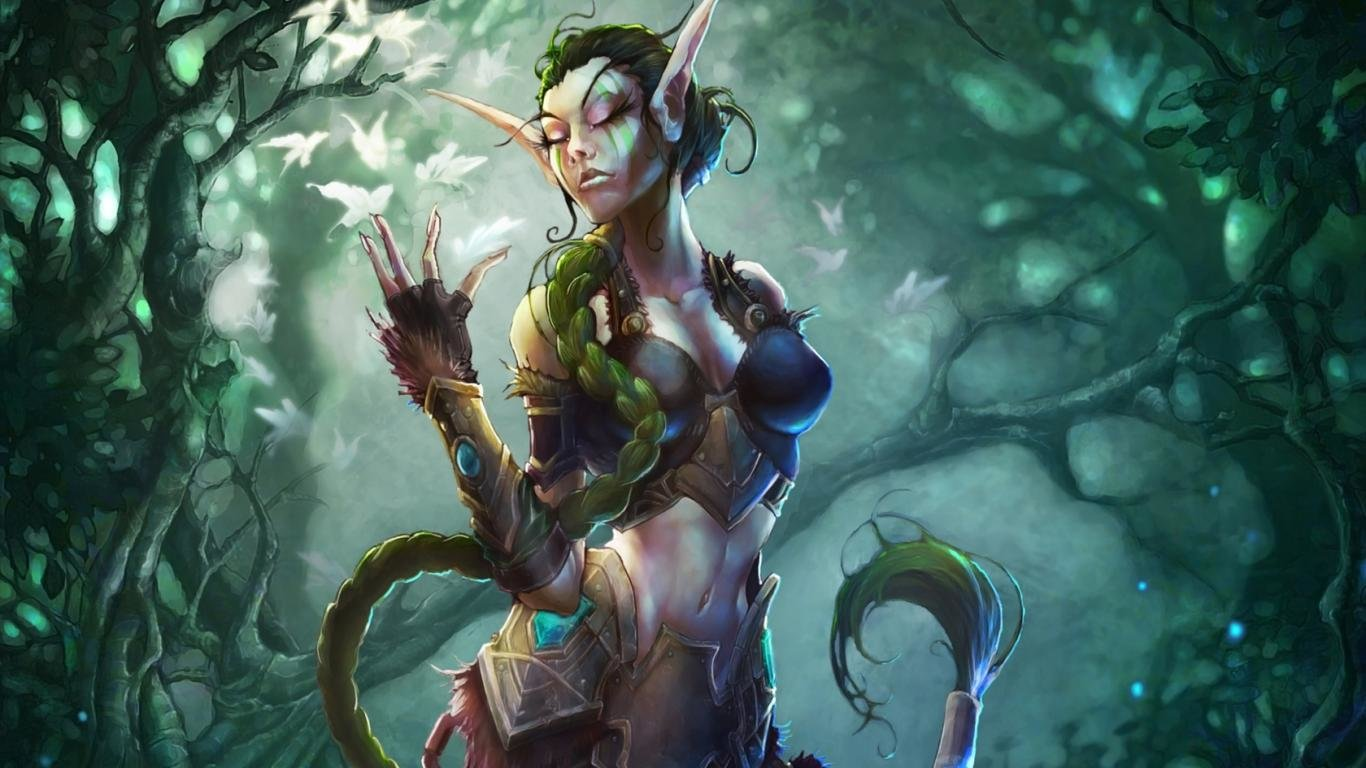 Warcraft (WOW) wallpapers 1366x768