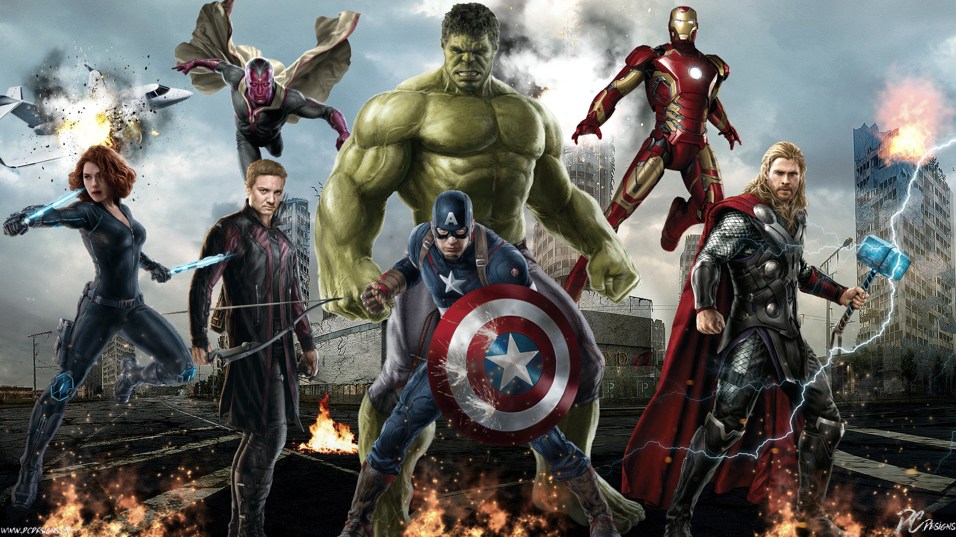 Download Hd 1080p Avengers Age Of Ultron Computer Wallpaper Id