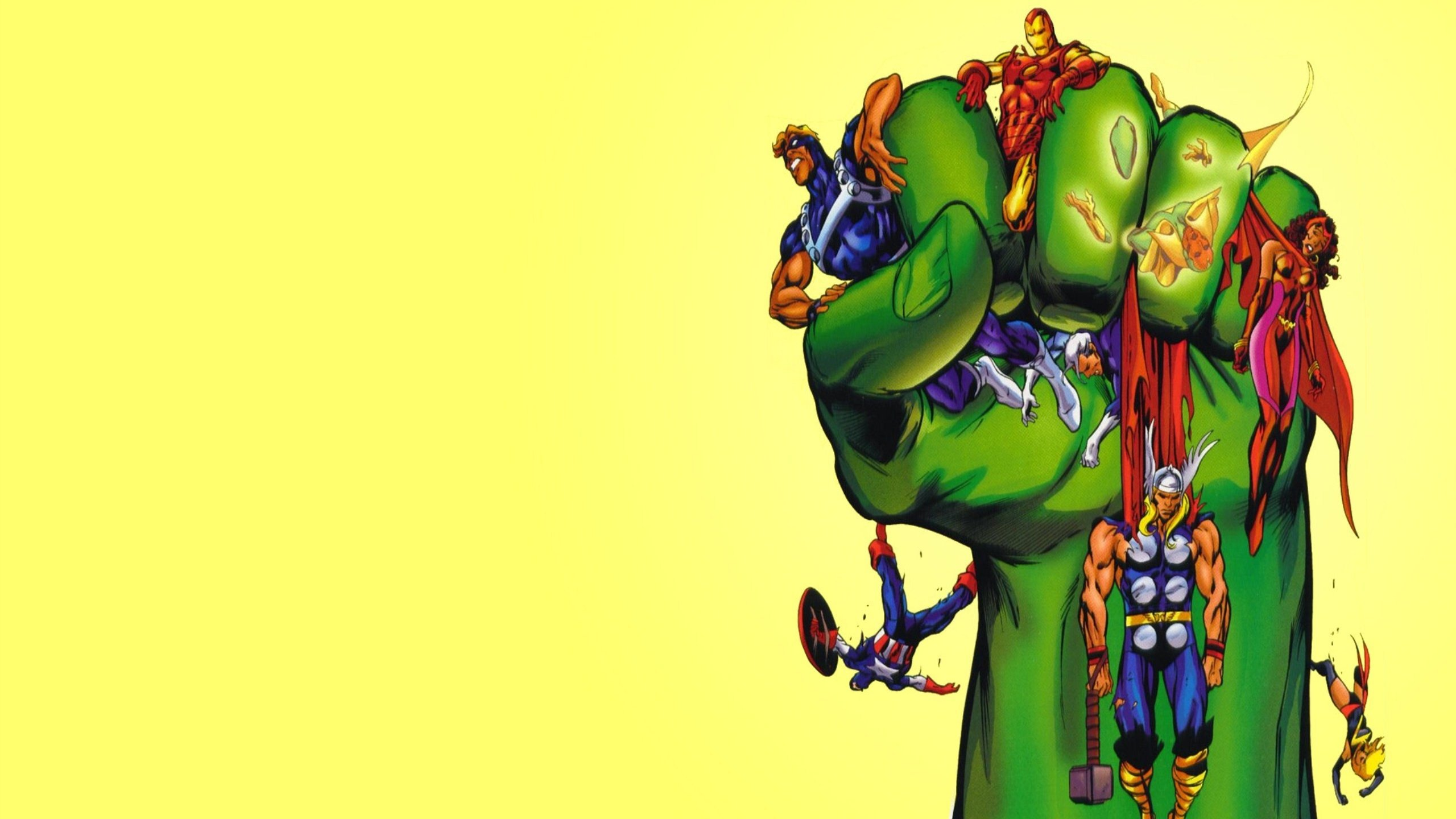 High resolution Avengers comics hd 2560x1440 wallpaper ID:334439 for PC