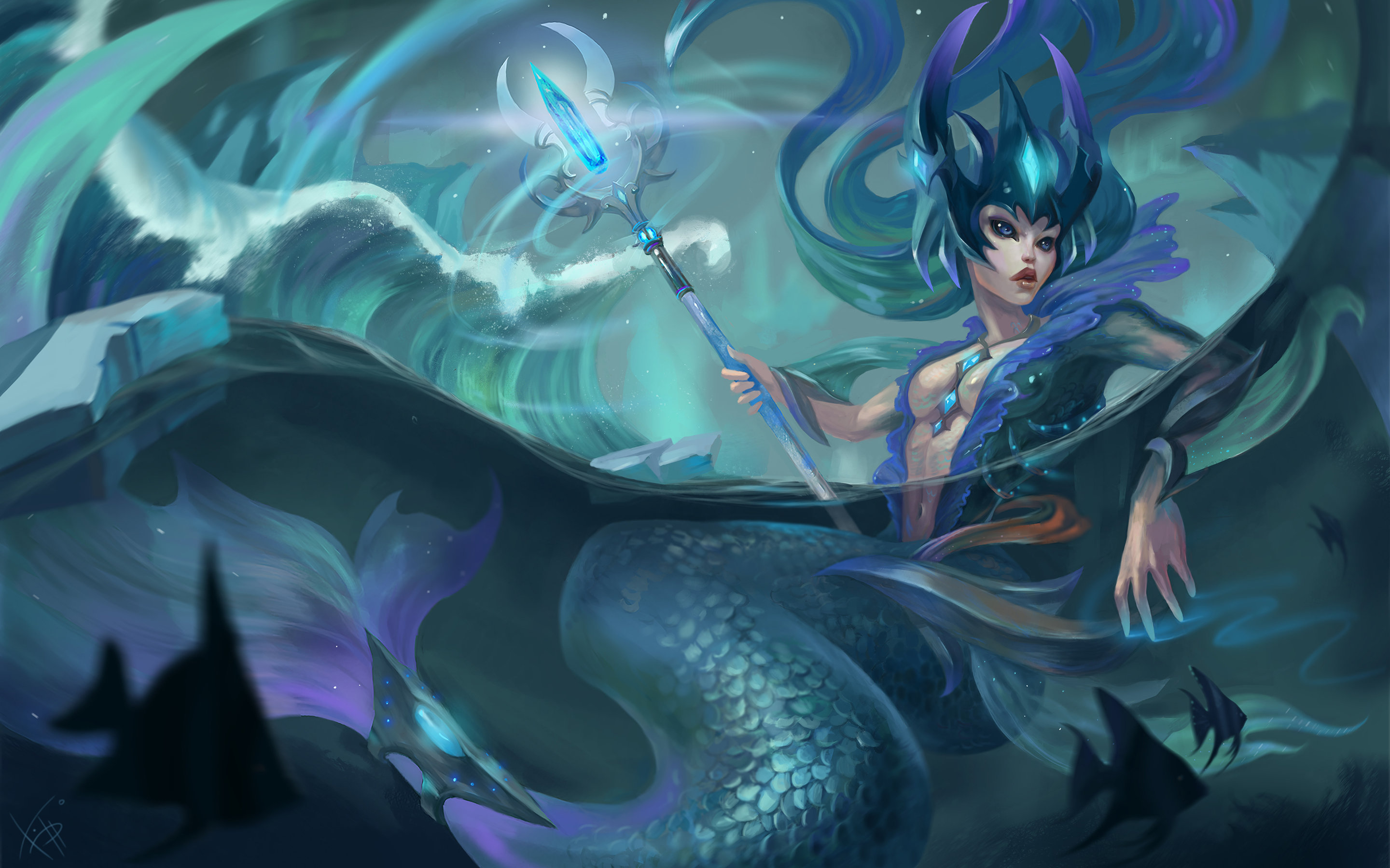 Awesome Nami League Of Legends Free Wallpaper Id173608