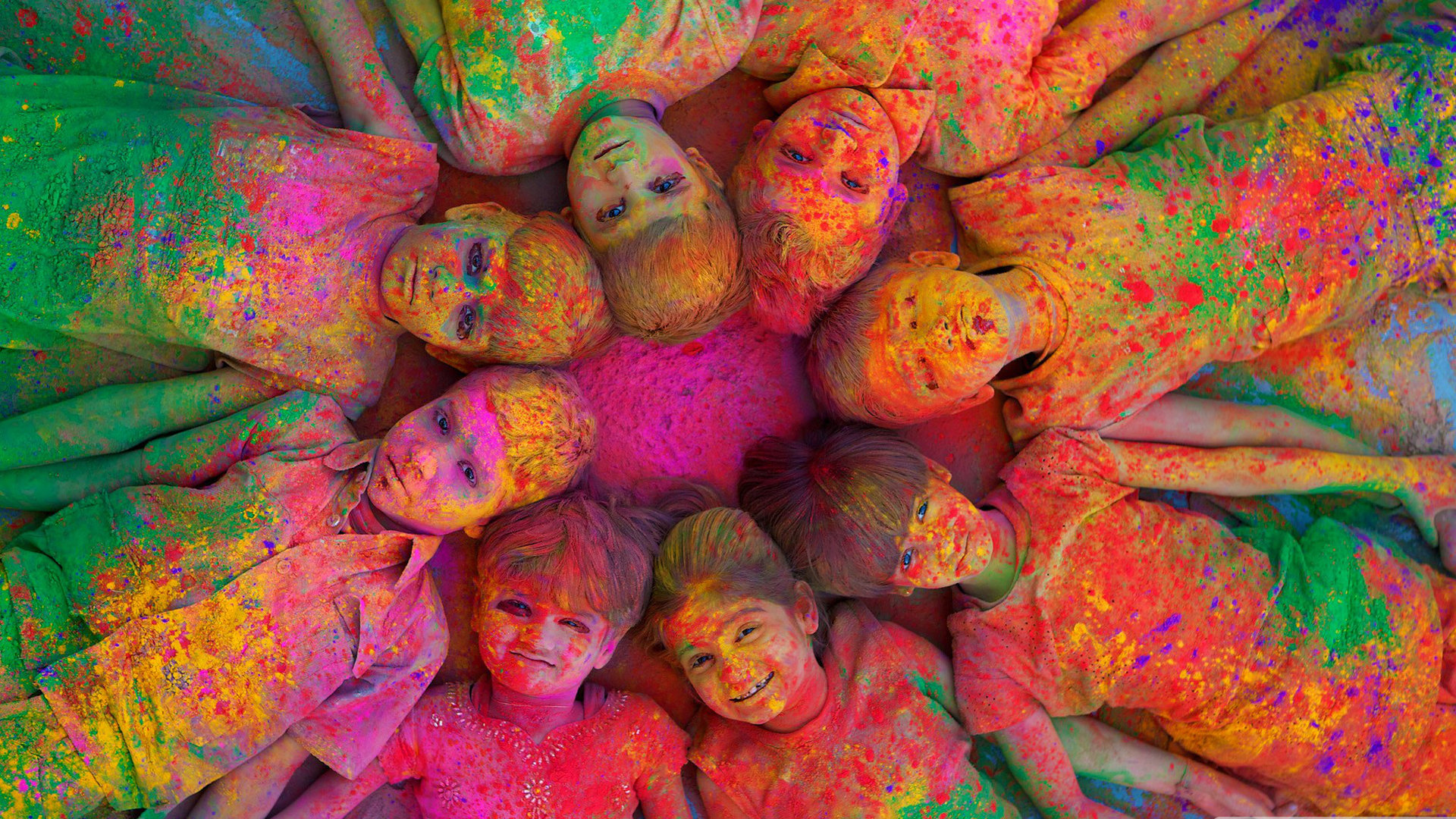 Download full hd Holi desktop wallpaper ID:325372 for free