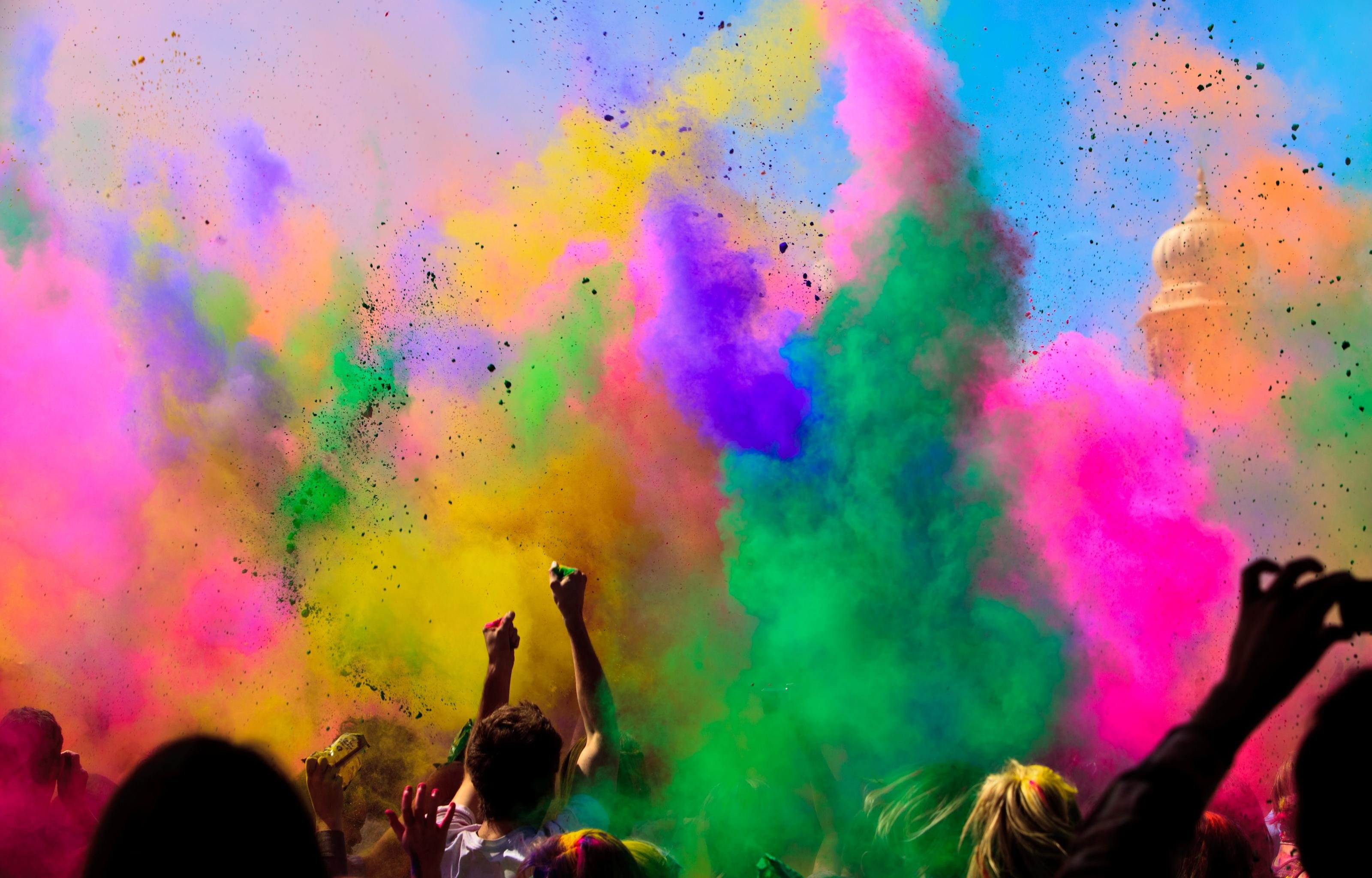 Download hd 3200x2048 Holi computer wallpaper ID:325370 for free