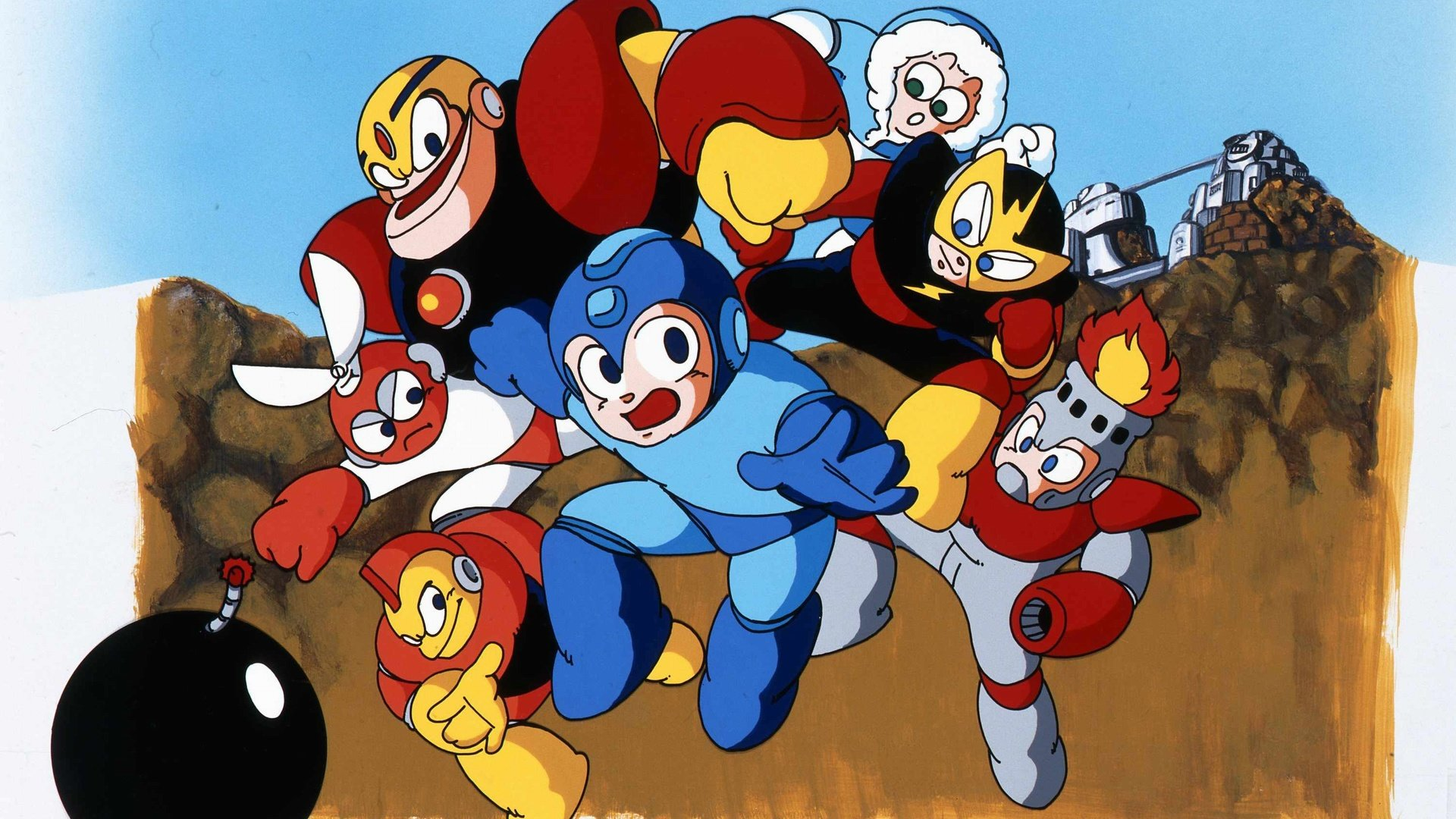 Best Mega Man background ID:29066 for High Resolution full hd 1920x1080 PC
