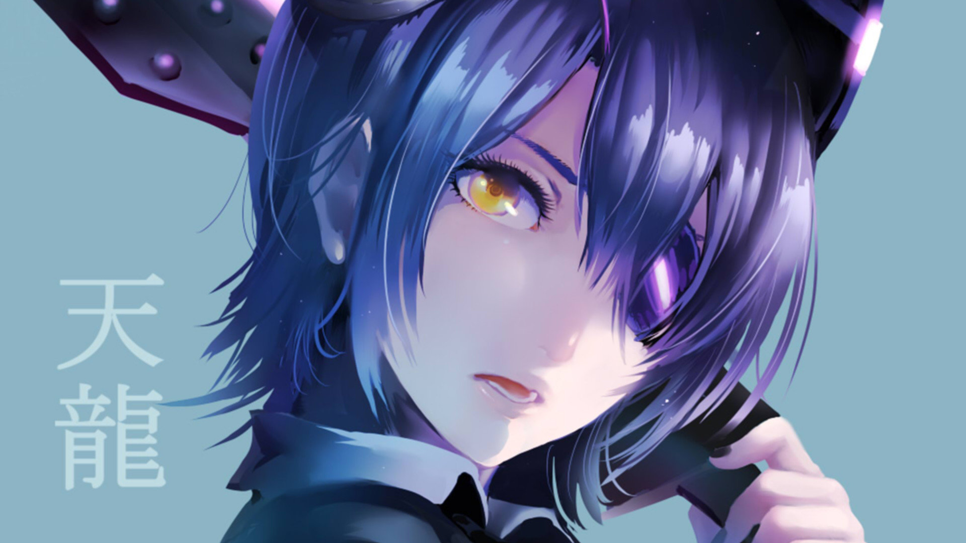 Download hd 1080p Tenryuu (Kancolle) PC background ID:330922 for free