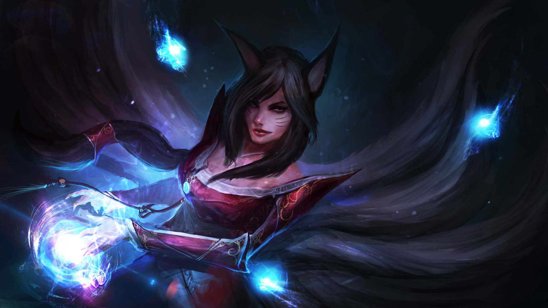 Awesome Ahri (League Of Legends) free wallpaper ID:173112 for full hd  desktop
