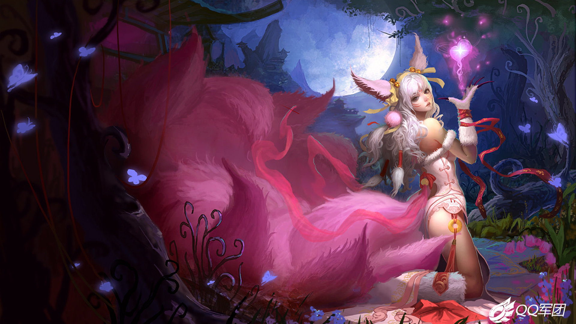 Awesome Ahri League Of Legends Free Wallpaper Id 171786 For Hd