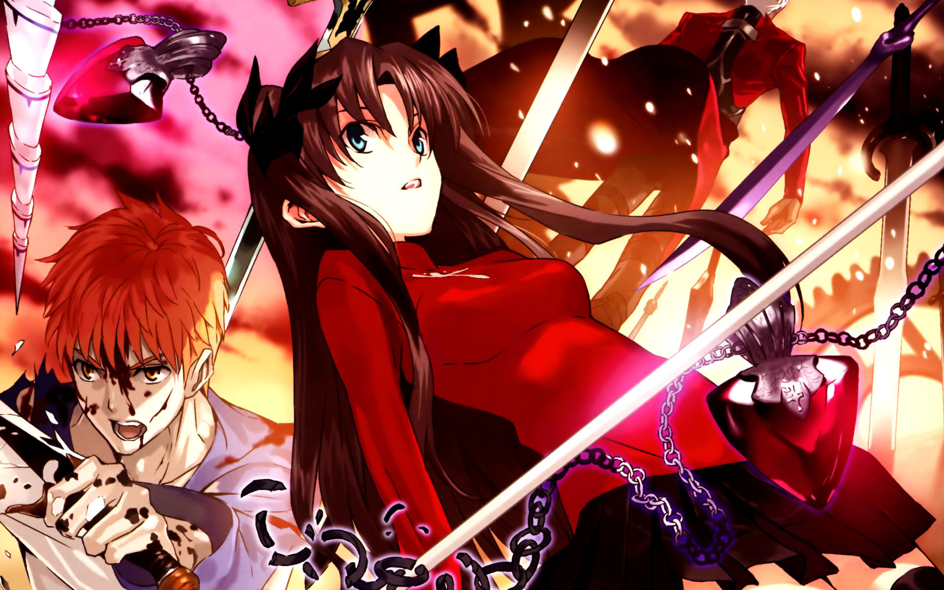 High resolution Fate/Stay Night: Unlimited Blade Works hd 1920x1200 wallpaper ID:291048 for PC