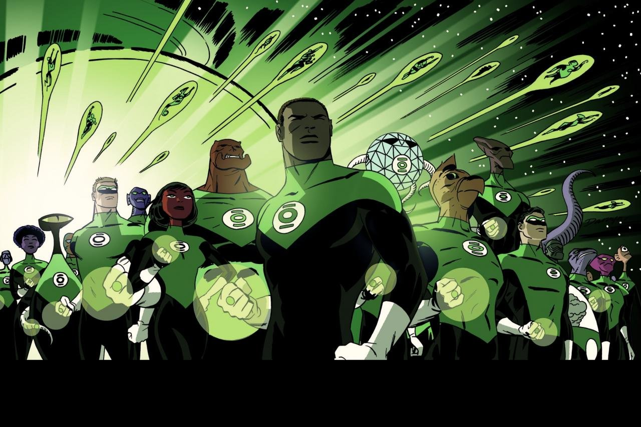 Awesome Green Lantern Corps free wallpaper ID:277461 for hd 1280x854 PC