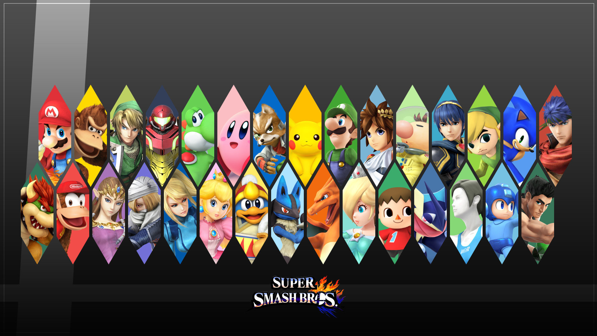 Super Smash Bros Wallpapers 1920x1080 Full Hd 1080p Desktop