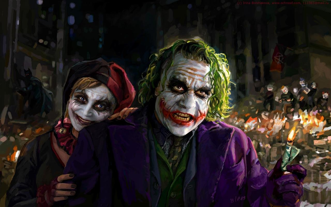 Awesome Joker free wallpaper ID:131172 for hd 1280x800 desktop
